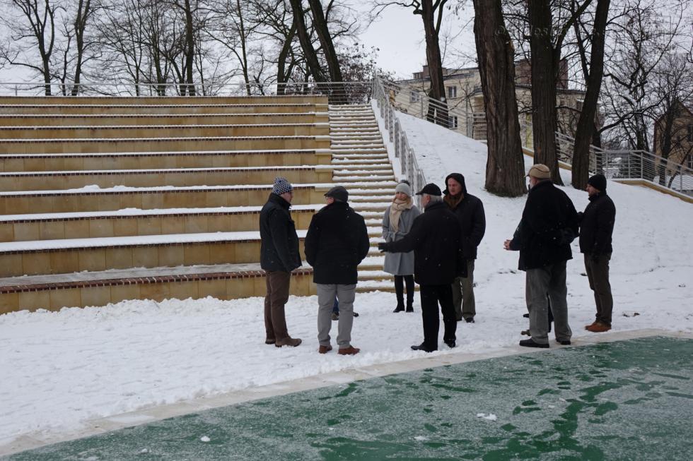 Nowy amfiteatr wparku miejskim