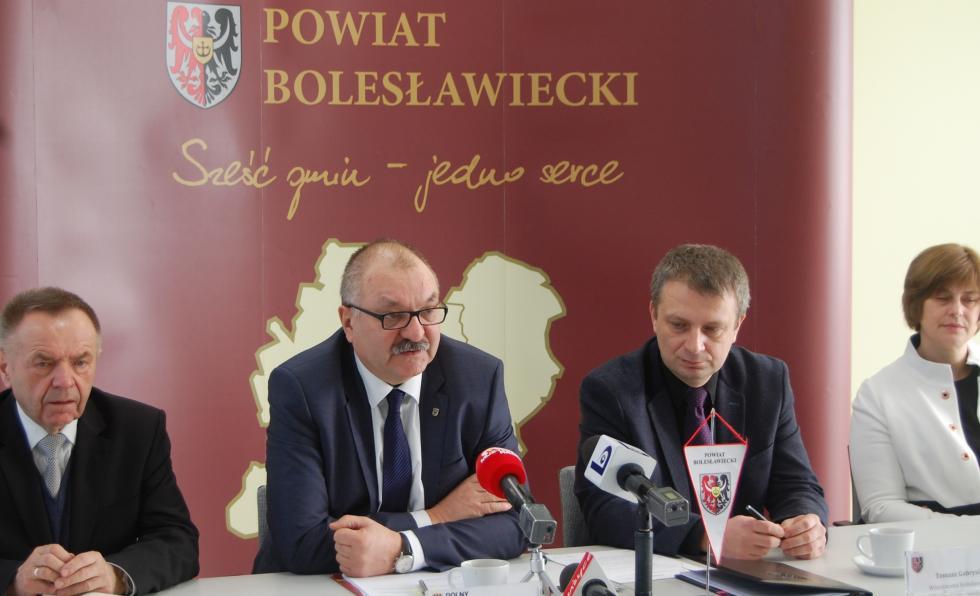 Inwestycja  Osiecznica - Rudawica – umowa podpisana