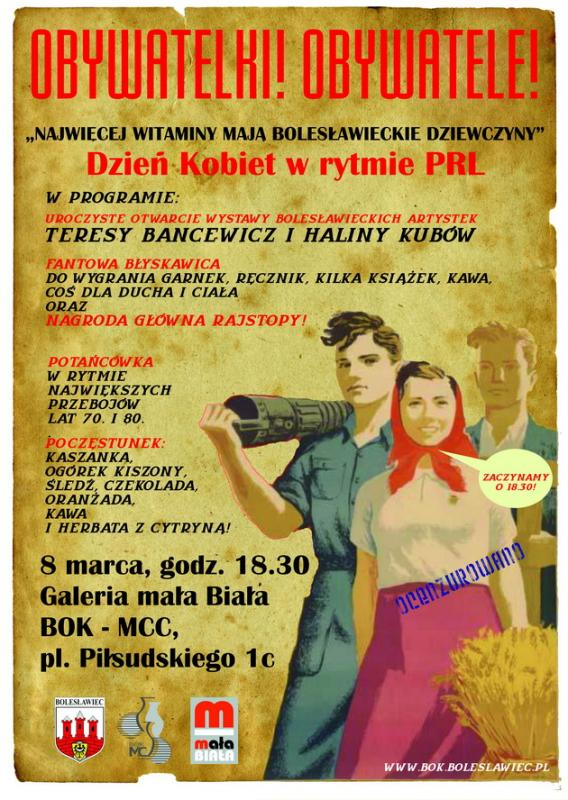 Dzień Kobiet wrytmie PRL wBOK - MCC