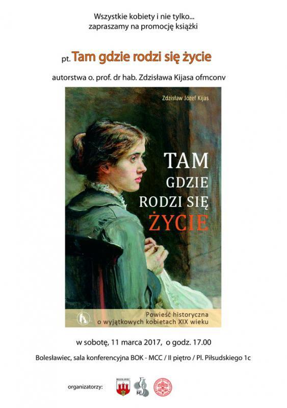 Promocja powieści oniezwykłych kobietach XIX wieku