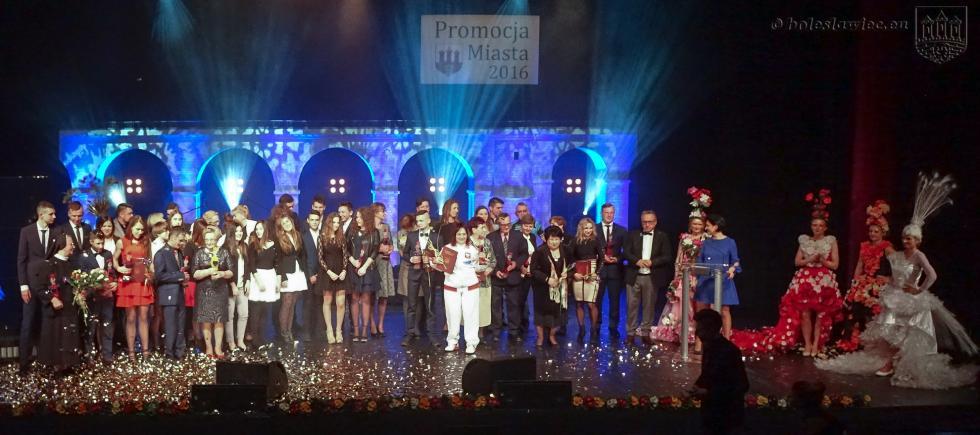 Laureaci nagrody za promocję Bolesławca 2016