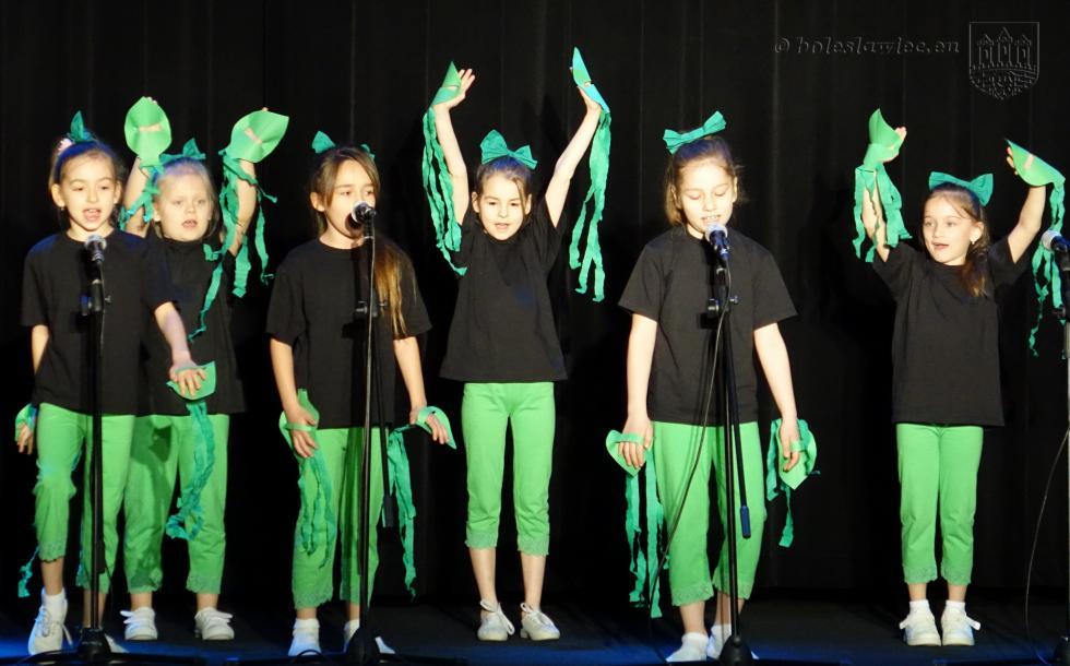 Rywalizowali wkonkursie piosenki ekologicznej