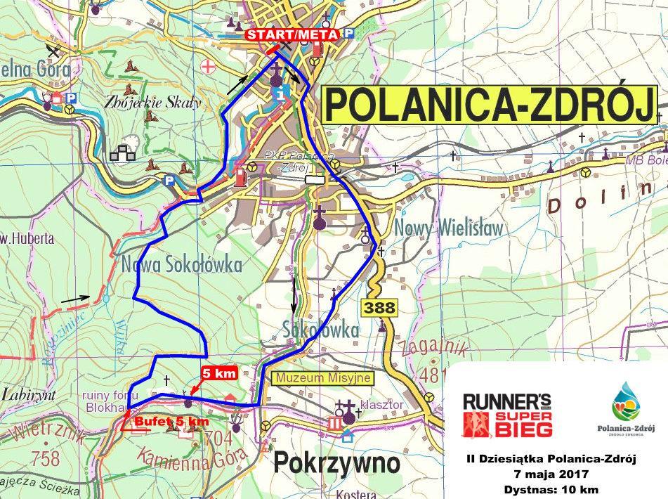 Górskie bieganie wPolanicy – Zdroju już 7 maja
