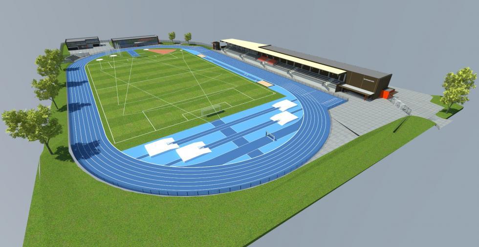 Jest koncepcja rozbudowy bolesławieckiego stadionu