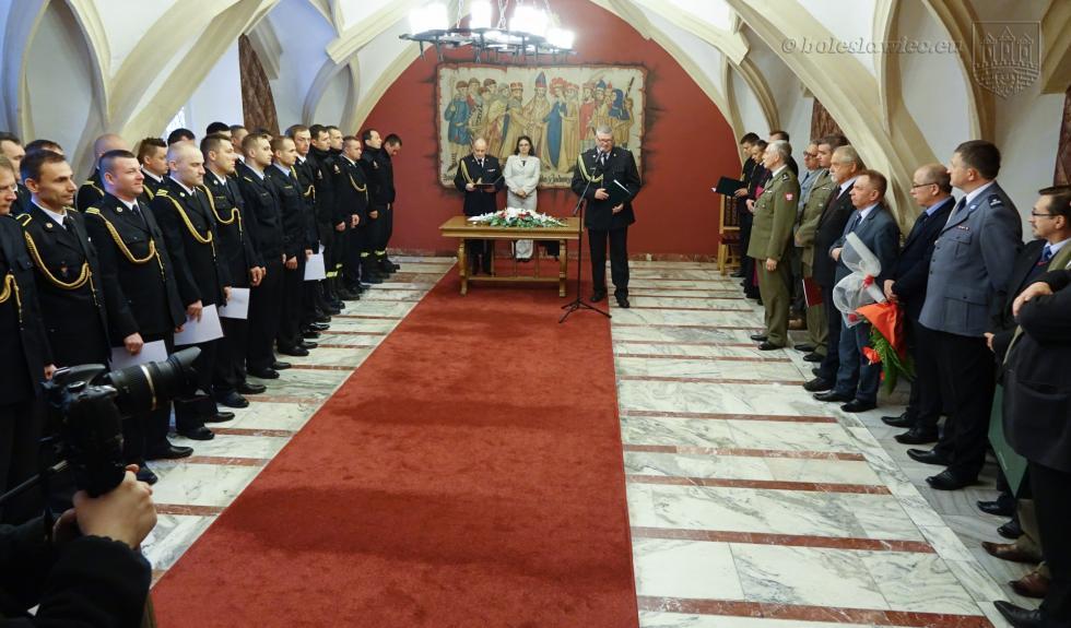Święto strażaków wBolesławcu