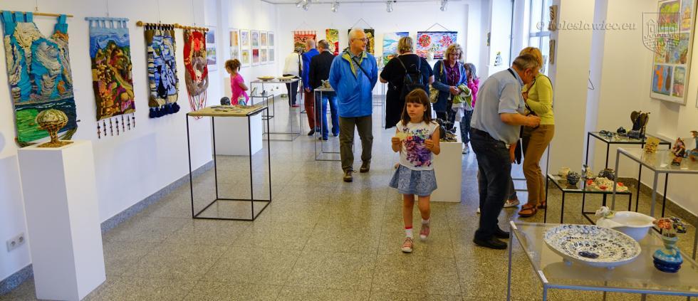 Wystawa prac uczestników zajęć oraz instruktorów pracowni artystycznych BOK – MCC