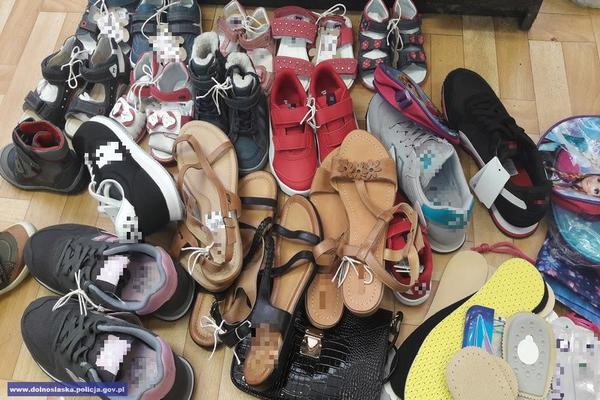 Kradła buty zzakładu pracy