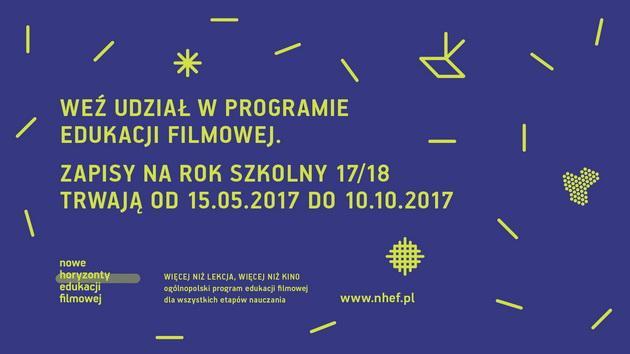 Edukacja filmowa dla szkół wForum - Więcej niż lekcja, więcej niż kino