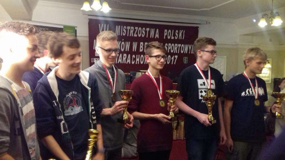 Brydżyści zMDK mistrzami Polski