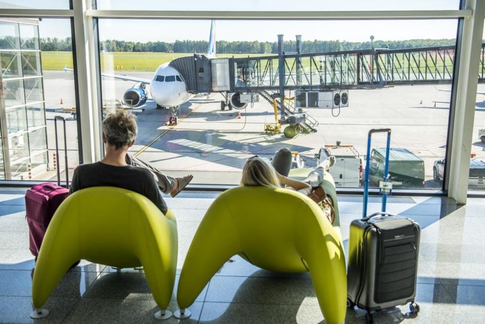 Coraz więcej pasażerów lata zWrocławia