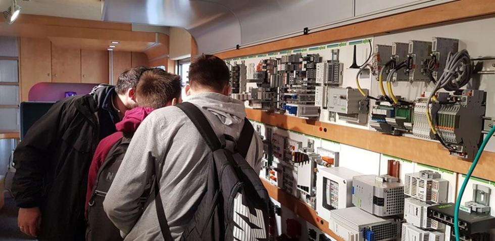 Laboratorium WAGO wElektroniku - nauka na kółkach