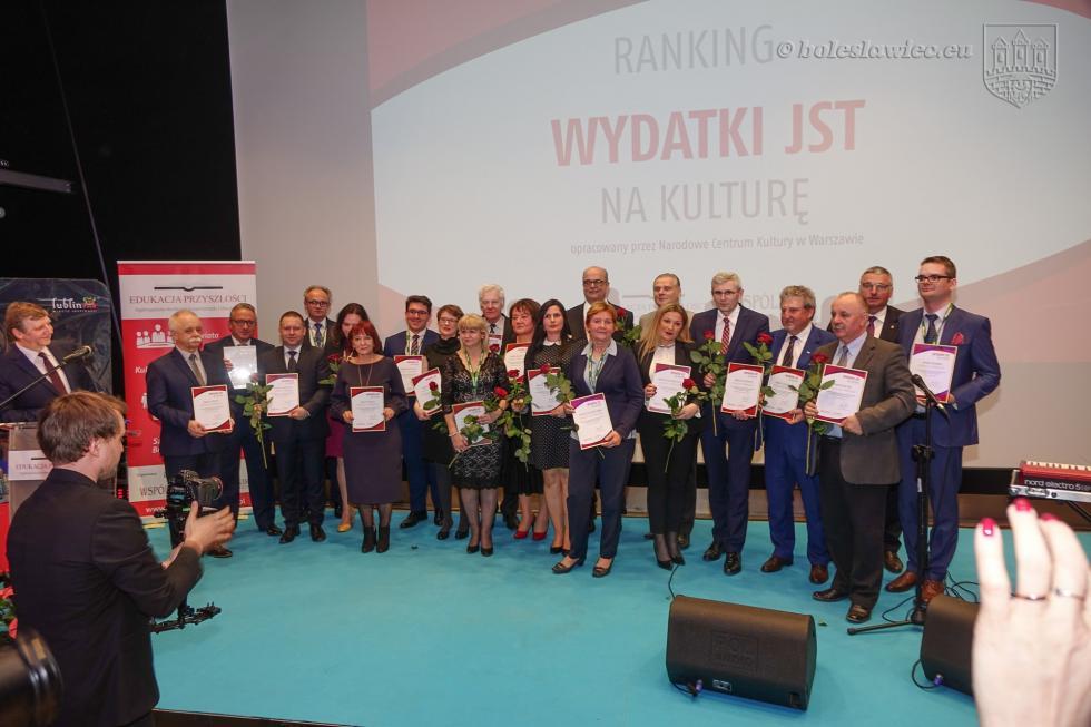 Bolesławiec nagrodzony za inwestycje wkulturę