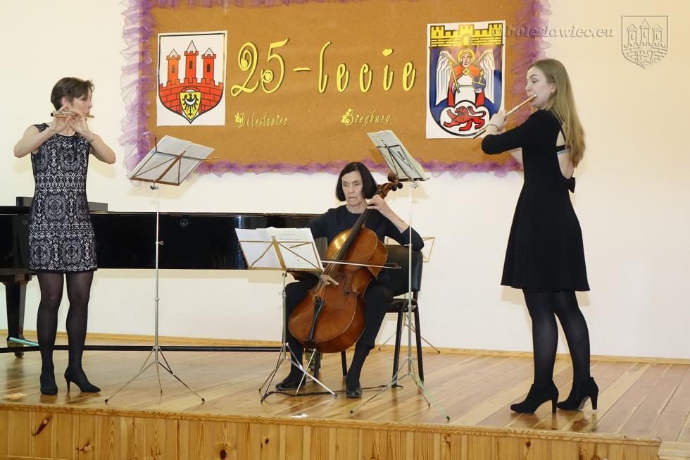 Koncert jubileuszowy szkół muzycznych zBolesławca iSiegburga