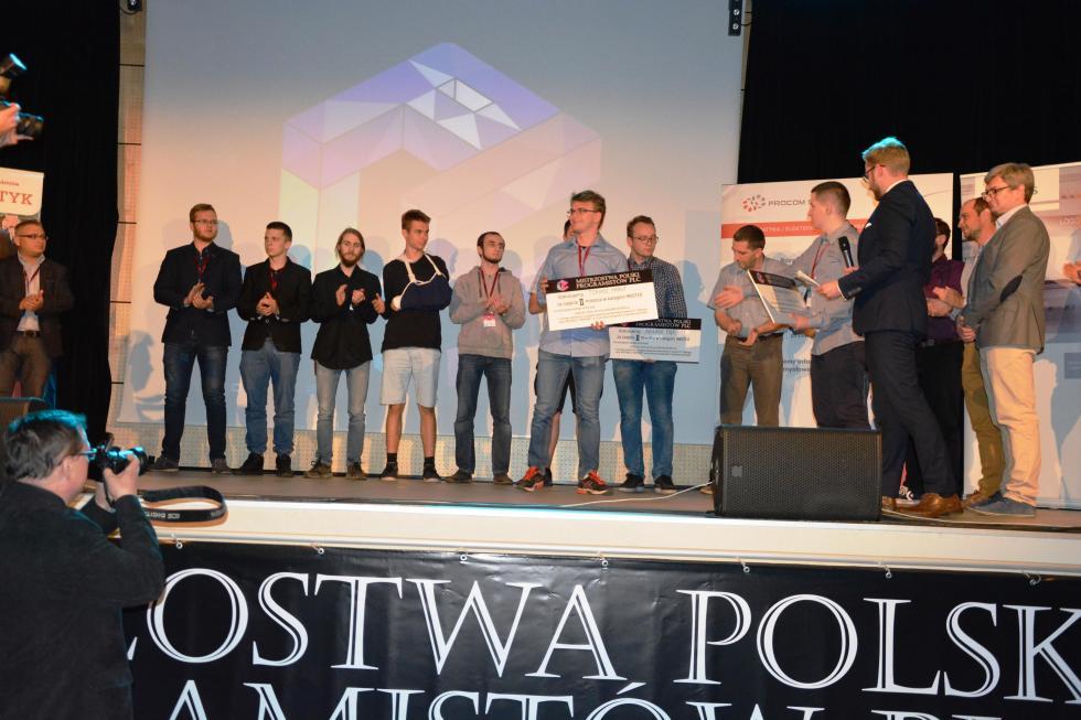 Tomek Marut zMECHANIKA wicemistrzem Polski programistów PLC!