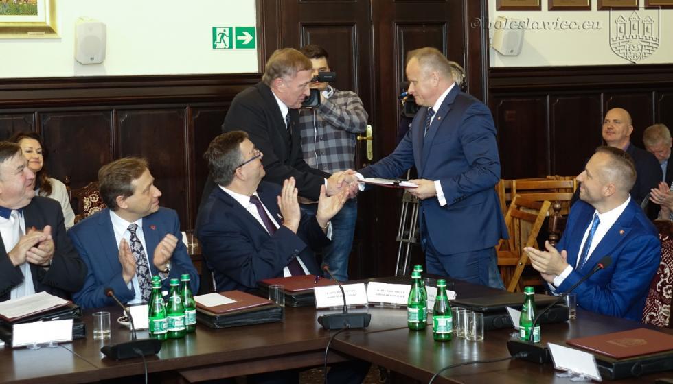 Pierwsza sesja Rady Miasta Bolesławiec