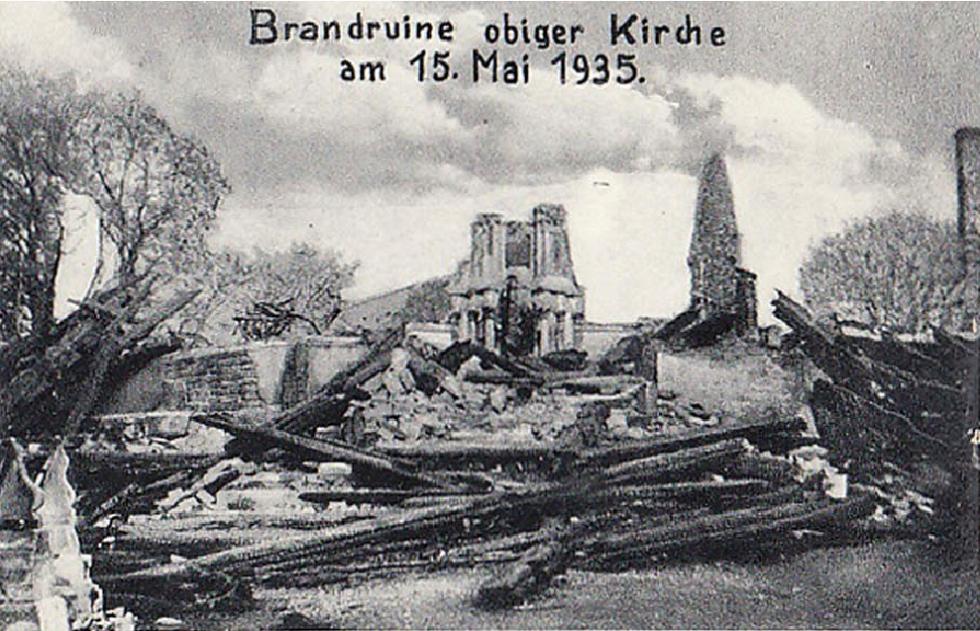 Świątynia  na  pogorzelisku