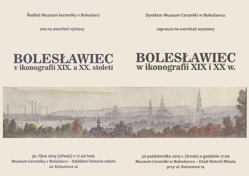 """Zaposzenie na wystawę """"Bolesławiec wikonografii XIX iXX wieku"""""""