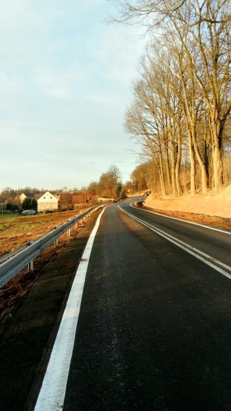 Nowa droga między Suszkami, a Starymi Jaroszowicami