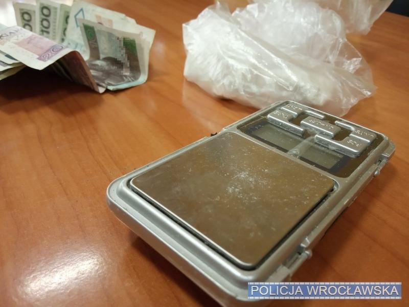 600 porcji amfetaminy nie trafi na ulice Wrocławia