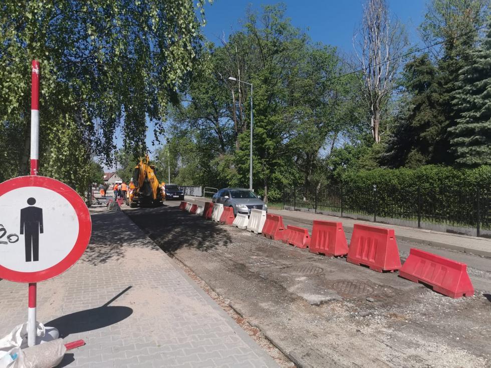 Bliżej końca remontu mostu przy ul. Mostowej