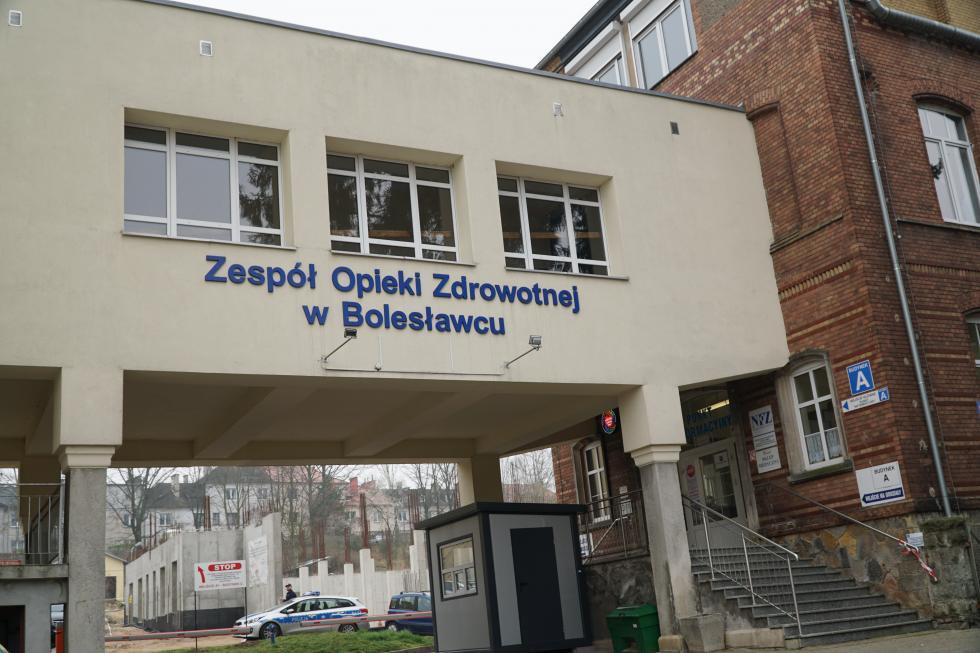 Szpital powiatowy wznawia przyjmowanie pacjentów