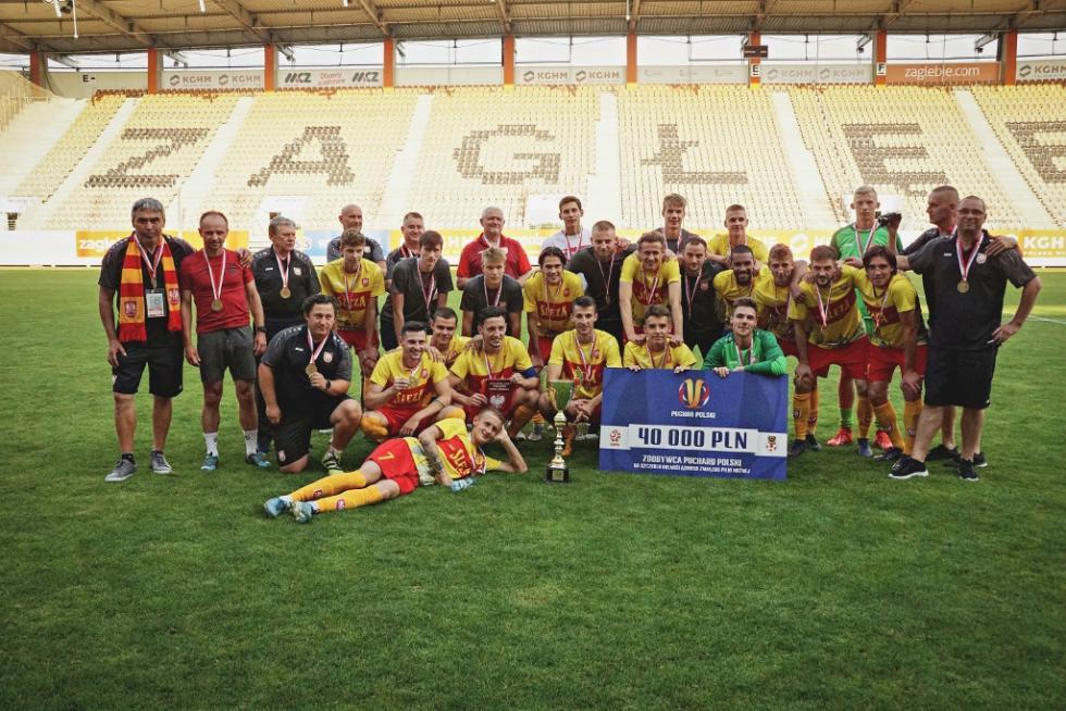 Piłkarze Ślęzy Wrocław sięgnęli po Wojewódzki Puchar Polski