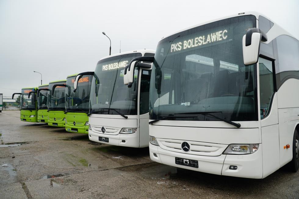 Kolejne autobusy wbolesławieckim PKS-ie