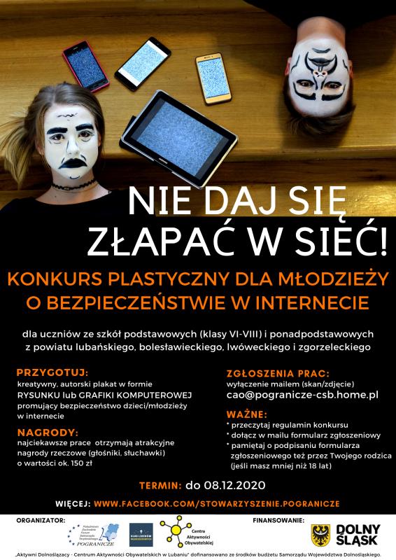 Zaproszenie - konkurs plastyczny dla młodzieży