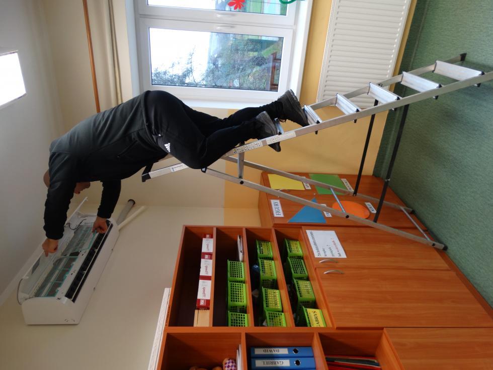 Szkoła wGościszowie zainstalowała klimatyzatory zfunkcją oczyszczania powietrza