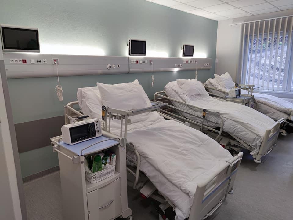 Modułowy budynek szpitala już gotowy