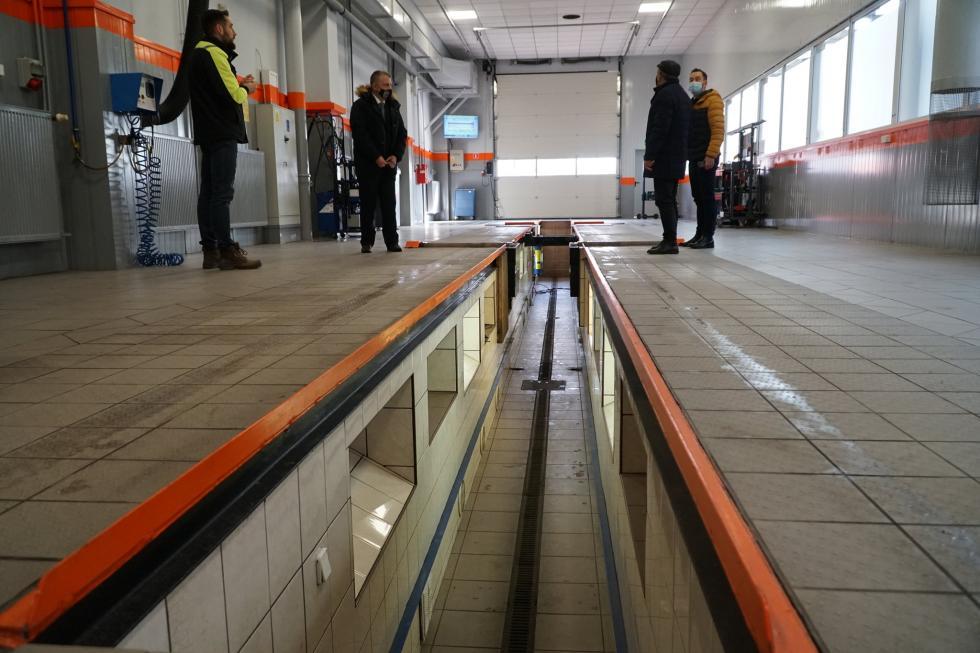 Wyremontowana iunowocześniona Okręgowa Stacja Kontroli Pojazdów PKS