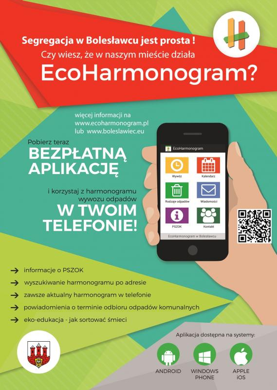 """Aplikacja mobilna """"EcoHarmonogram"""""""