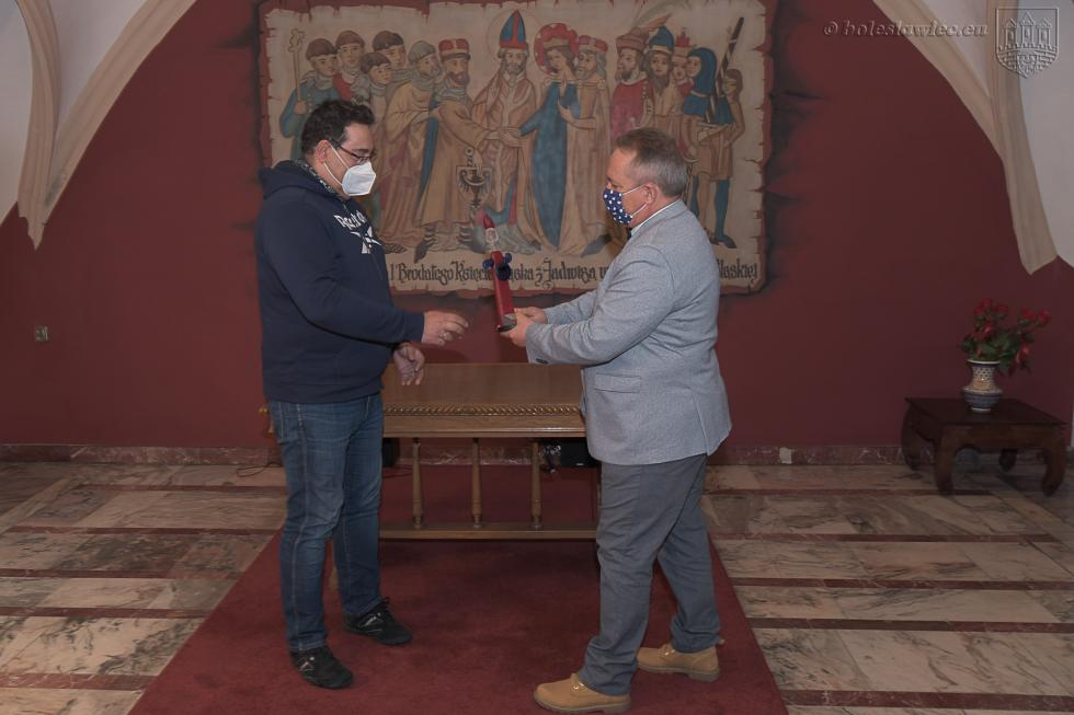 Laureaci nagrody za promocję Bolesławca w2020 roku  wdziedzinie NAUKA