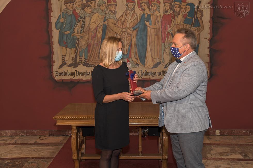 Laureaci nagrody za promocję Bolesławca w2020 roku  wdziedzinach KULTURA, INICJATYWY SPOŁECZNE, INNE