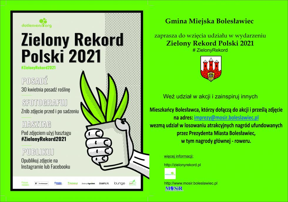 Weź udział w#ZielonyRekord