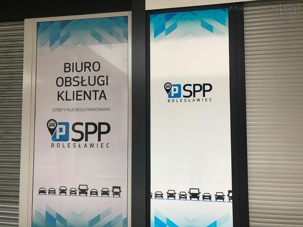 Biuro Strefy Płatnego Parkowania wBolesławcu