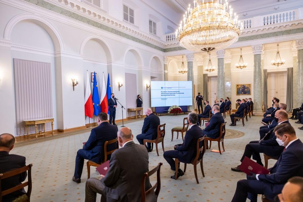 Burmistrz Środy Śląskiej powołany przez Prezydenta RP doRady ds. Samorządu Terytorialnego