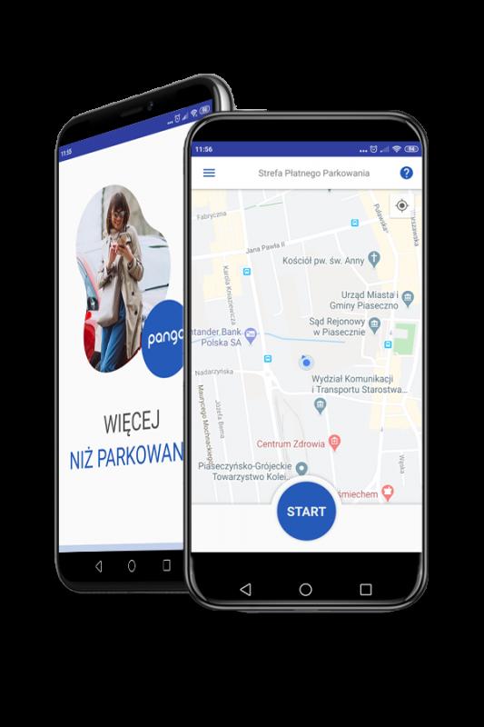 Aplikacja Pango wStrefie Płatnego Parkowania wBolesławcu