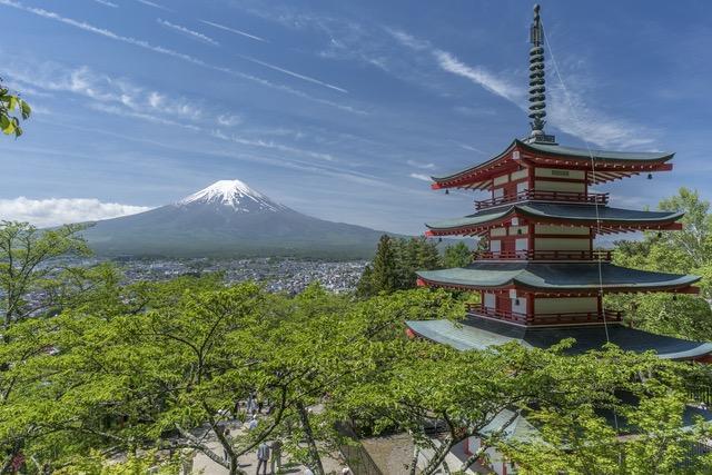 Symbol Japonii - góra Fudżi. Jest prywatną własnością
