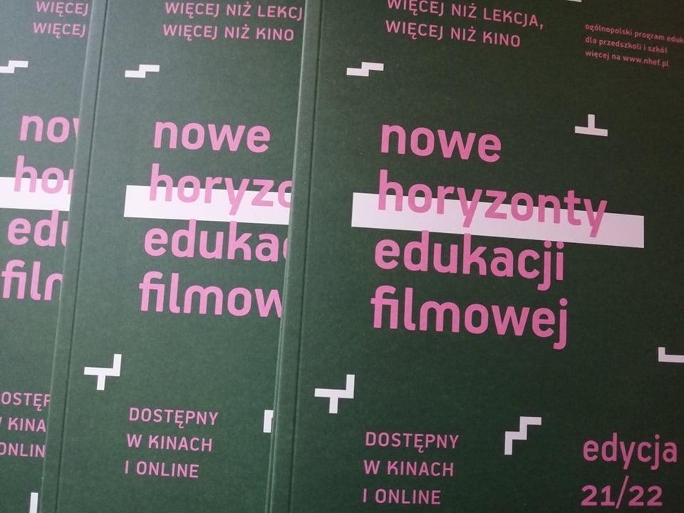 Rozpoczyna się kolejna edycja Nowych Horyzontów Edukacji Filmowej